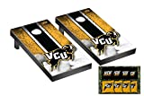 Victory Tailgate Virginia Commonwealth University VCU Rams Desktop Mini Cornhole Game Set
