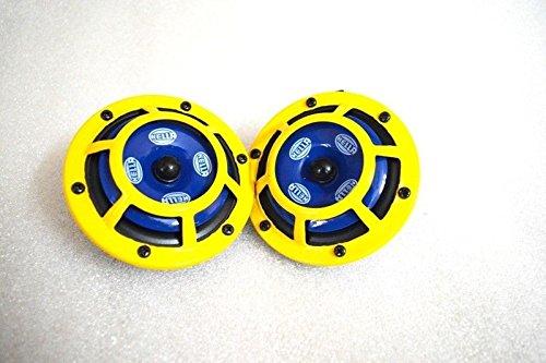 VSI Hella Twin Supertone Horn Kit 003399801 Real Hella Yellow Horns /& Packed