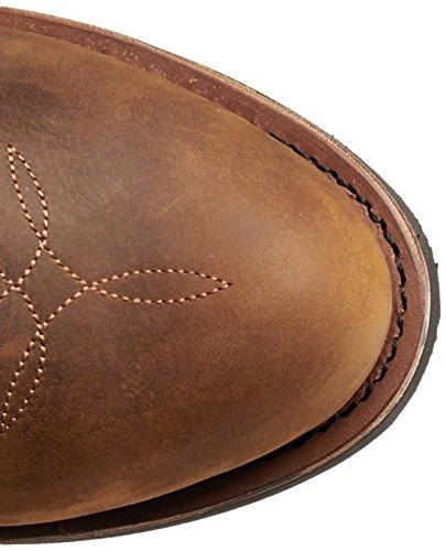 Dan Post Men's Albuquerque Waterproof Boot,Mid Brown Oily,10.5 D US