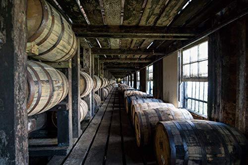 Fine Art Print of Wild Turkey Bourbon Barrel House - Whiskey Canvas Print - Bourbon Warehouse - Pub Decor - Man Cave Decor - Kentucky Bourbon - Bar Wall Art - Bourbon Gift