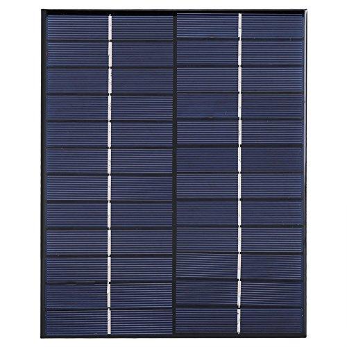 Módulo Solar de Panel Solar de Silicio Policristalino de Mini Panel Solar 12V 5.2W Para Fuente de Alimentación de Cargador...