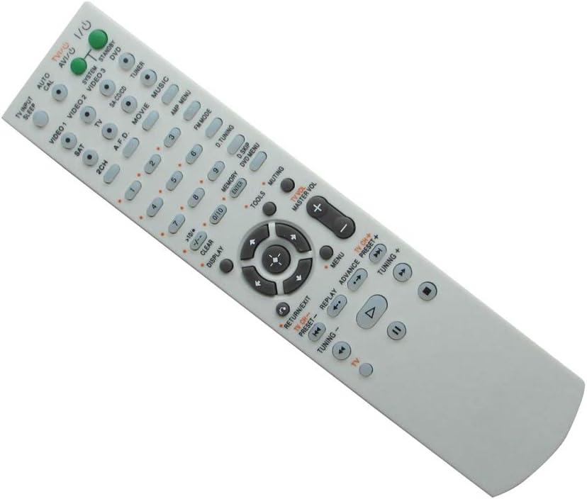 HCDZ Replacement Remote Control for Sony STR-K790 STR-KG700 STK-KG700 STR-DH100 STR-DH800 Surround Sound AM FM Audio Video Receiver