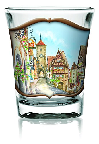 Essence of Europe Gifts German Village Clear 2.25