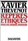 Repères éthiques pour un monde nouveau par Thévenot