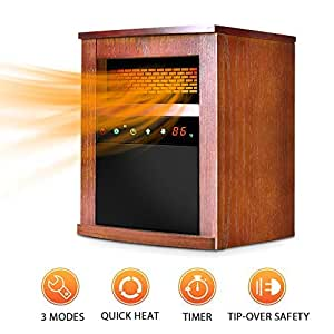 air choice electric space heater 1500w. Black Bedroom Furniture Sets. Home Design Ideas
