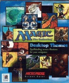 Magic The Gathering (MTG) Desktop Themes (Desktop Theme)