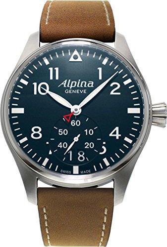Alpina Geneve Startimer Pilot AL-280N4S6 Mens Wristwatch Excellent readability