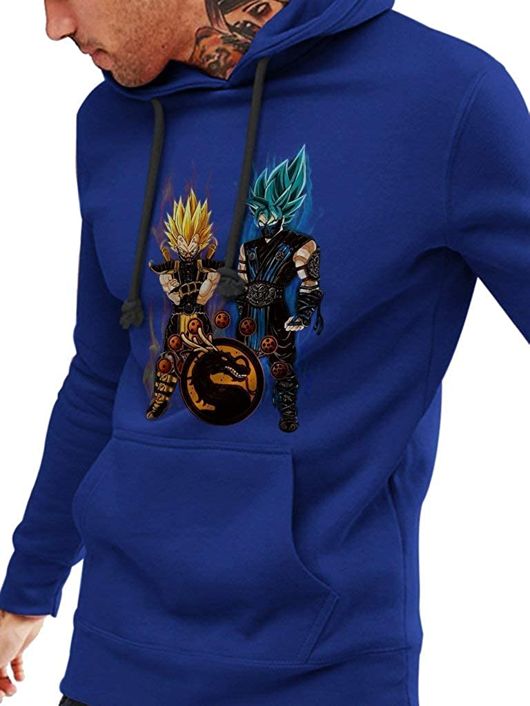 DBZ X Mortal Kombat Funny Vintage Trending Awesome Unisex Shirt by SMLBOO Hoodie