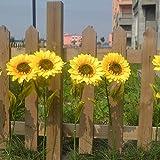 VT BigHome 1Pc Home Garden Fence Decoration Fake Flower Vivid Big Artificial Sunflower