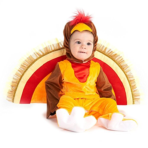 Turkey Tot Trot Infant Costume (Turkey Costume Baby)
