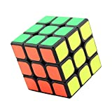 Mexlor Speed Magic Puzzle Cube Brain Teaser Durable Smooth Twisty Proffessional Colorful Portable For Adults International Competition Instruction Education (Standard)