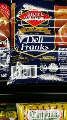 Dietz & Watson Deli Franks 14 Oz (4 Pack)