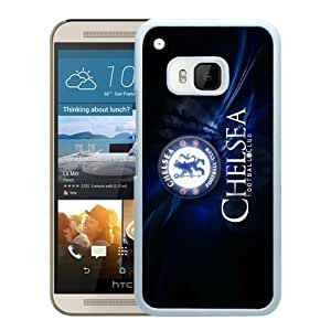 Popular Custom Designed Cover Case For HTC ONE M9 With Chelsea White Phone Case 5