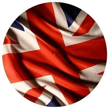 Single DJ Record Turntable Slipmats BRITISH FLAG UK TURNTABLE SLIPMAT x 1 birthday funny gift for him for her