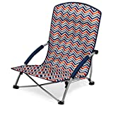 Picnic Time Tranquility Portable Folding Beach Chair, Vibe Collection
