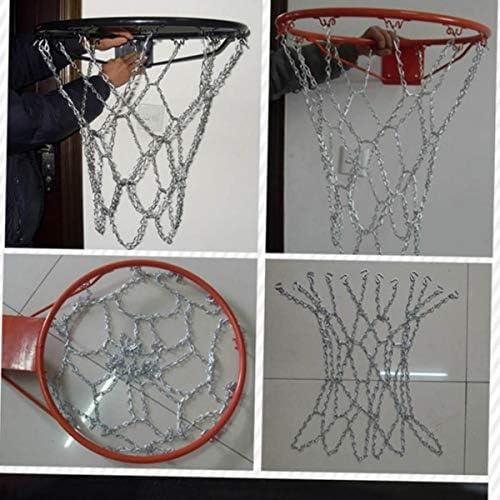 LIOOBO Red de Baloncesto de Hierro Red Profesional estándar de ...