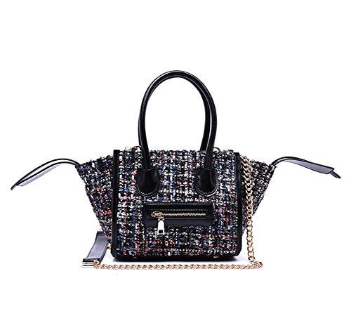 Fujia 2016 Smile Style Women Handbags Black