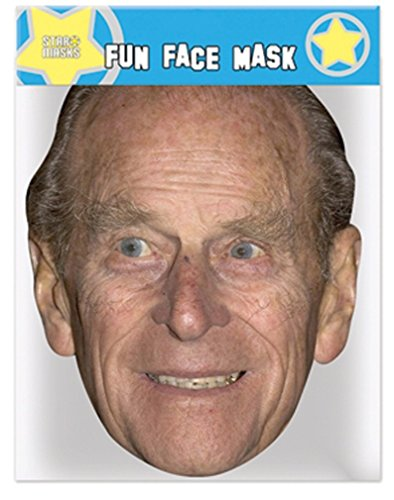 Prince Philip - Celebrity Face Mask ()