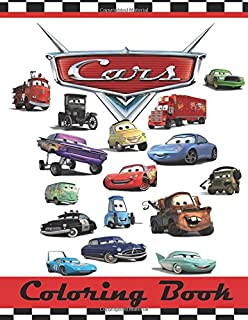 Cars Colouring Book This 80 Page Childrens Has Images Of Lightning McQueen