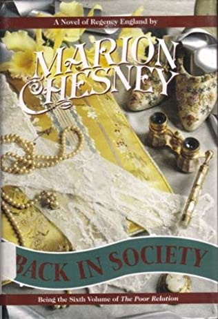 book cover of Back in Society