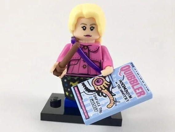 LEGO Harry Potter Series 1 - Luna Lovegood Minifigura (05/22): Amazon.es: Juguetes y juegos