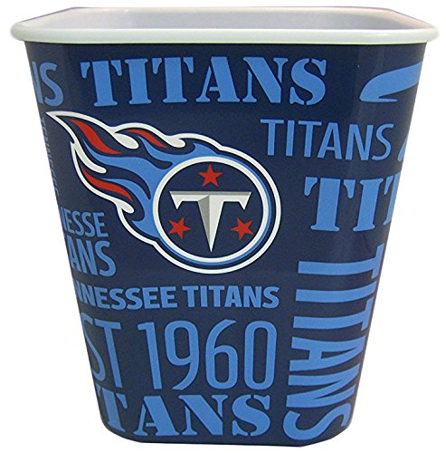 Tennessee Titans 3 Liter Reusable Plastic Snack Bucket (Tennessee Titans Ceramic)