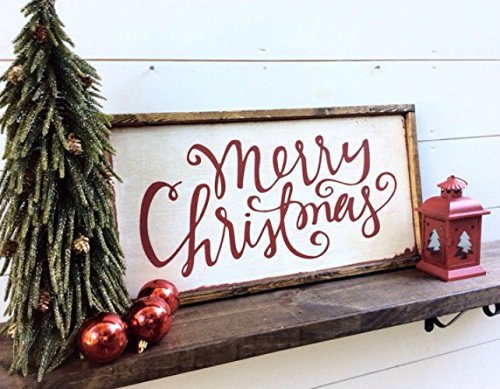merry christmas wood sign christmas sign merry christmas rustic sign christmas decor farmhouse sign - Merry Christmas Wooden Sign