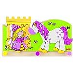 Goki Children Little Princess with Unicorn Coat Rack