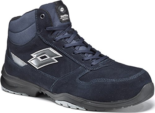 Lotto Scarpe Antinfortunistiche Works Flex Evo Mid S3 SRC HRO Blu- Memory Foam 771204