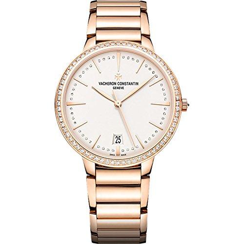 Vacheron Constantin Patrimony Contemporaine Silver Dial 18kt Rose Gold Ladies Watch 85515CA1R-9840 Vacheron Constantin Ladies