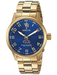 INVICTA MEN'S SEA BASE GOLD-TONE STEEL BRACELET & CASE QUARTZ WATCH 23824