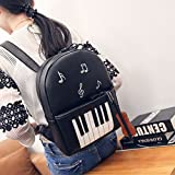 Music-Piano-Shoulder-Bag-Women-Casual-Music-Pattern-Travel-Backpack-PU-Leather-Bag