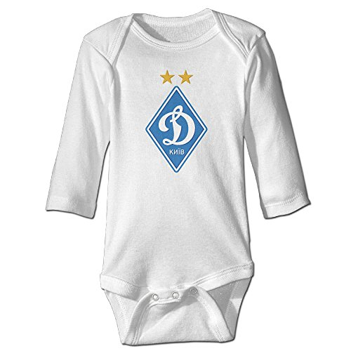 NOX0 Football Club Dynamo Kyiv Long Sleeve Baby Onesie -