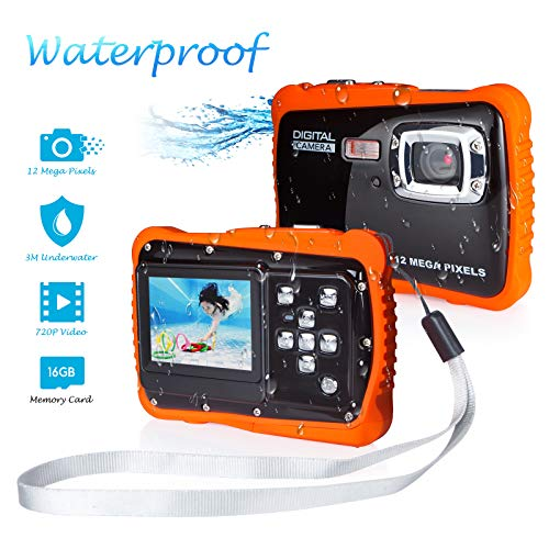 5Mp Waterproof Digital Camera - 1