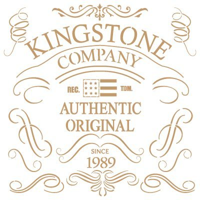TODO-STENCIL Deco Vintage Composició n 164 Kingstone Co. Medidas aproximadas: Medida exterior 20 x 20 cm Medida del diseñ o:16, 7 x 17 cm