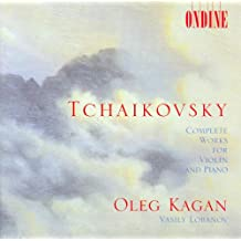 Tchaikovsky, P.I.: Violin And Piano Music(Complete)