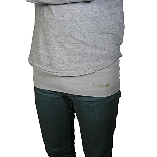 Nierenw/ärmer H/üftw/ärmer Lidia Sports Basic grau size XL