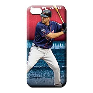 iphone 6plus 6p phone cover shell Plastic case pattern minnesota twins mlb baseball