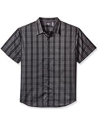 Men's Big and Tall Flex Stretch Short Sleeve Non Iron Shirt