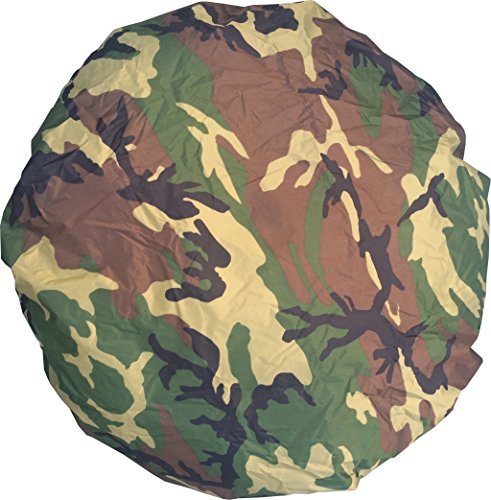 Fire Camo - Fire Force Backpack Rain Cover Made in USA (Woodland Camo)