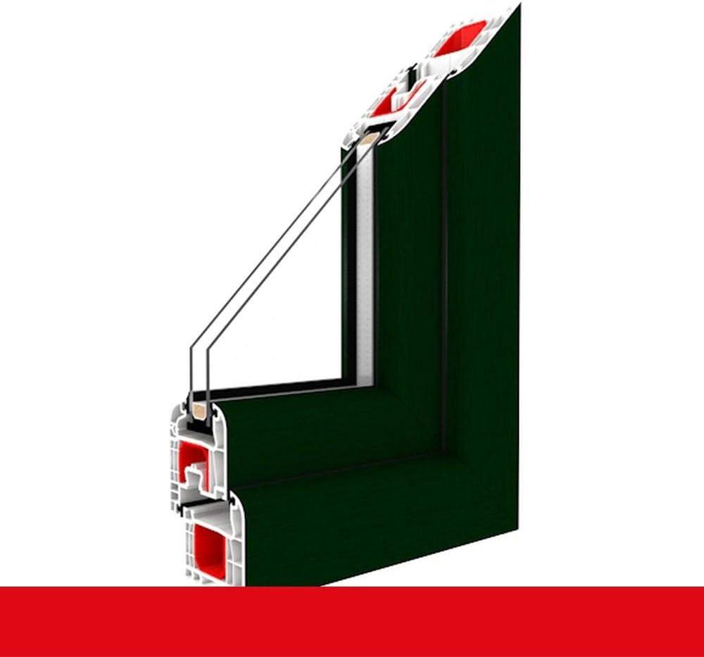 BxH:900x1400 90x140 cm Glas:3-Fach Kunststofffenster dunkel gr/ün 612505 Dreh Kipp 2-fach 3-fach Verglasung alle Gr/ö/ßen Anschlag:DIN Rechts