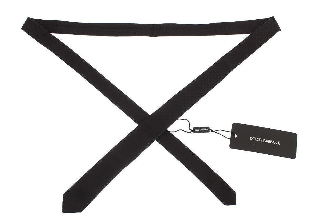 Dolce & Gabbana - Corbata de seda de fantasía marrón: Amazon.es ...