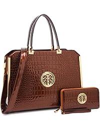 Women Handbags & Purse Ladies Designer Satchel Handbag Tote Purse Shoulder Bags~1988 Women Classic