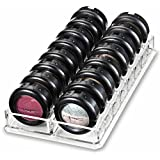 byAlegory Acrylic Eyeshadow Makeup Organizer | 16 Space Cosmetic Storage (CLEAR)