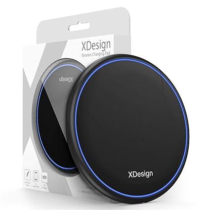 Amazon.com: XDesign - Cargador inalámbrico de 10 W con base ...