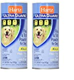 Hartz Ultra Guard Flea And Tick Powder For Dogs, 4 oz (2 PACK)