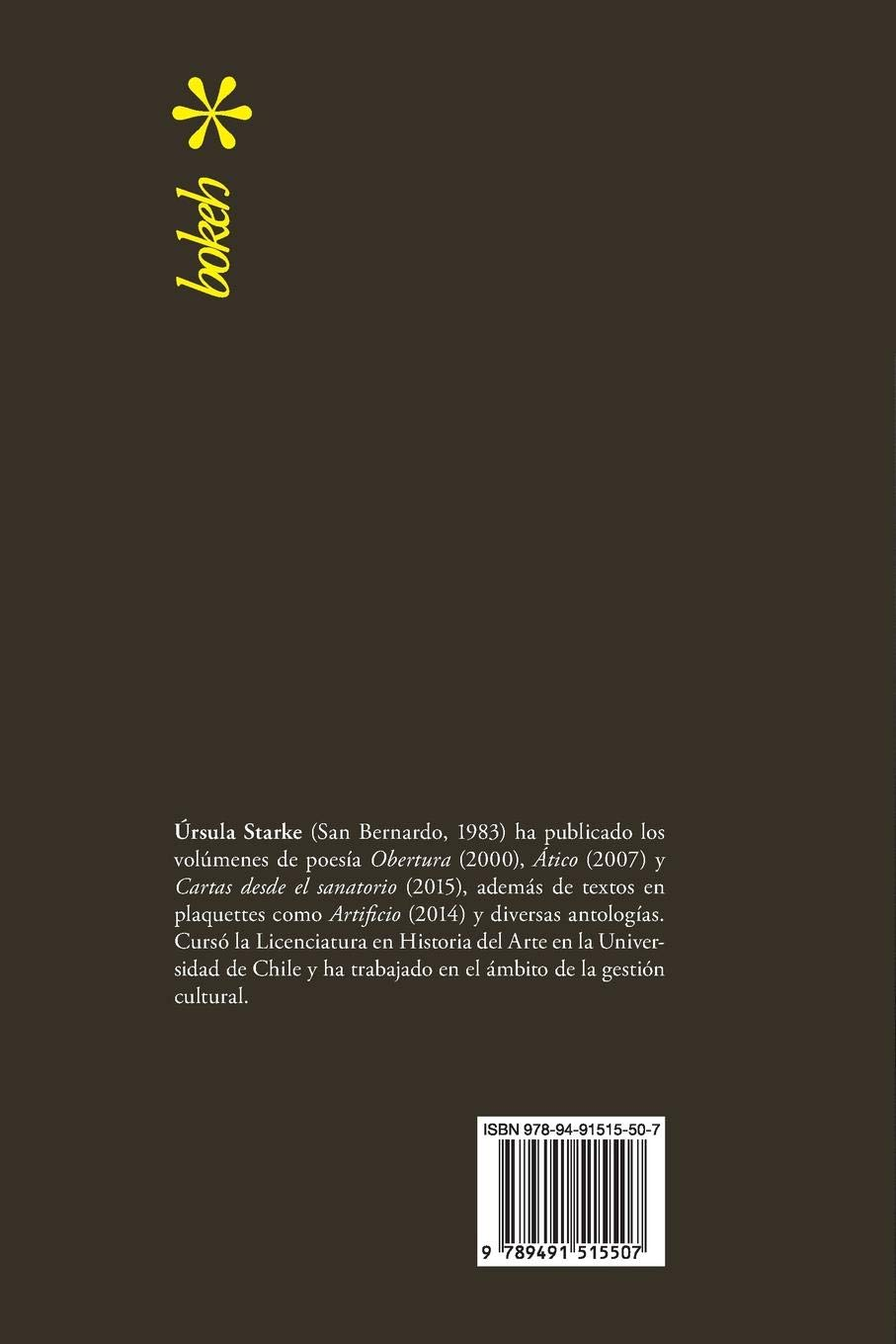 Prótesis. Escrituras 2007-2015 (Spanish Edition): Úrsula Starke: 9789491515507: Amazon.com: Books