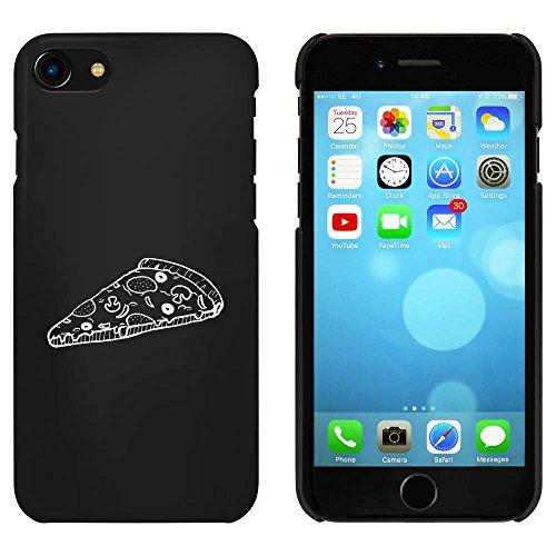 Noir 'Tranche de Pizza' étui / housse pour iPhone 7 (MC00063783)