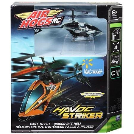 - Air Hogs RC Havoc Striker Helicopter Grey/Blue