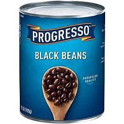 Progresso Black Beans, 15 oz Cans (Pack of 24)